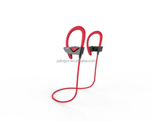 Flat cable earphone with mic wireless Bluetooth earphones with driver.