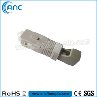 LC Female to SC Male Fiber Optic Adapter