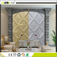Luxury design 3D background wall decoration for KTV room and Living room