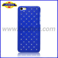 2013 Newest Luxury Bling Star Diamond Hard Back Cover Case for Iphone 5C