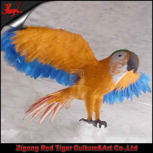 simulation animal theme park animal animatronic parrot