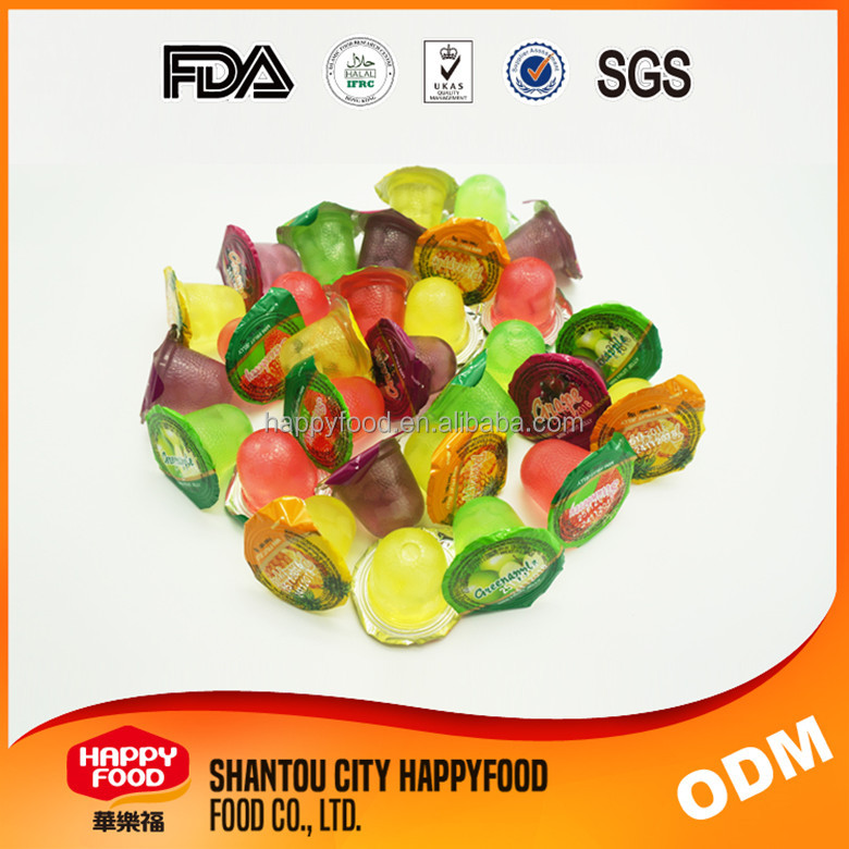 Nata De Coco 5 Favour Assorted Mini Fruit Jelly cup