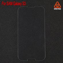 Gold Mirror 100% Perfect fit mobile phone for Samsung Galaxy S3 tempered glass screen protector