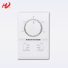 Wall Mounting Air Conditioning Fan Coil Room Thermostat