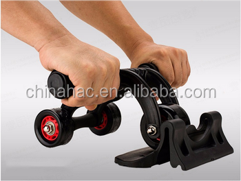 yongkang best selling Hot abdominal folding ab roller for body <strong>fitness</strong>