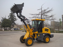 Wheel Loader Moving Type and New Condition garden tractor loader ZL12