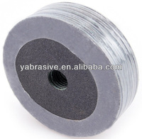 silicon carbide fiber disc, abrasive fibre disc for glass