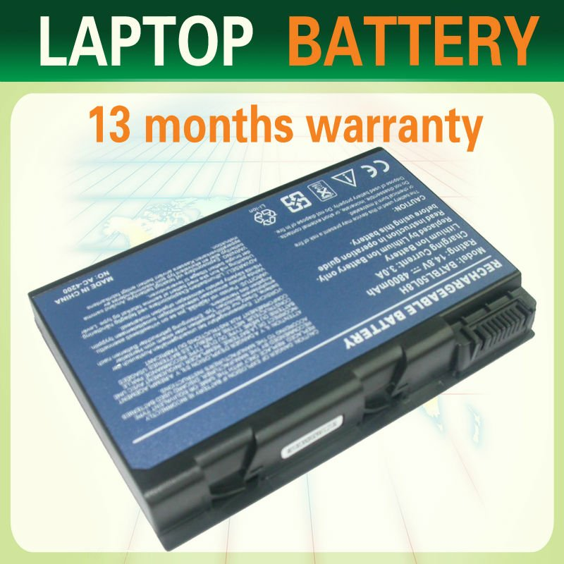 high qualiity laptop battery for Acer Aspire 3100 3102 5100 5102 5110 5610 5612 9100 9410 9500 9800 Series.