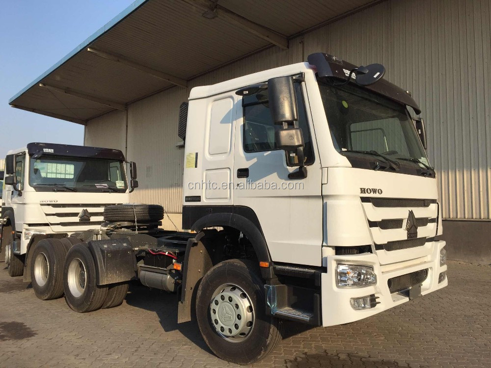 SINOTRUK 6X4 371HP Diesel Tractor Head Trailer Trucks Prices