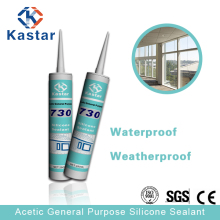 Factory manufacture low voc acetic silicone sealant for window frames