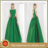 AED-20 Elegant Custom Made A-Line Formal Party Gown 2015 Low Back Zuhair Murad Emerald Green Evening Dress