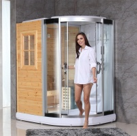 luxury bathroom design steam shower sauna combos