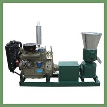 New design small flat die KL300A 55hp diesel engine driven wood sawdust pellet machine,wood pelletizer with CE