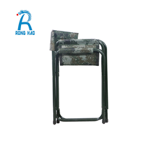 Outdoor Metal Camouflage Folding Director Chair