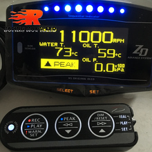 df ZD advance df meter Display Digital water oil temperature gauge,oil press gauges rpm gauges speed