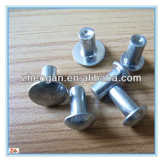 galvanized circle head screw