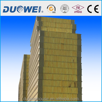 glass wool plus polyurethane sandwich panel