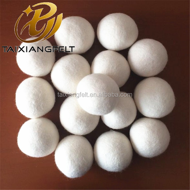 nangong taixiang felt co ltd 100% merino wool dryer balls top quality