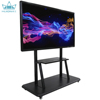 IR 10 points UHD 4K 65 inch Interactive large size touch screen panel display GT-650