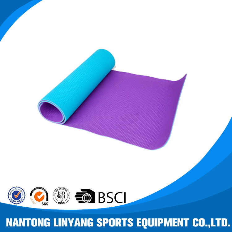 Quality Cheapest tpe exercise yoga mat 8mm