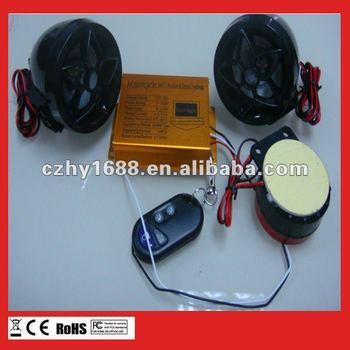 usb/sd/mmc motorcycle fm radio mp3+buzzer alarm
