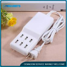 Multi usb portable charging station h0tcN multi pin mobile phone charger for sale