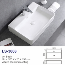 Best quality bathroom ceramic art countertop designer washing machine spin motor price in india basin
