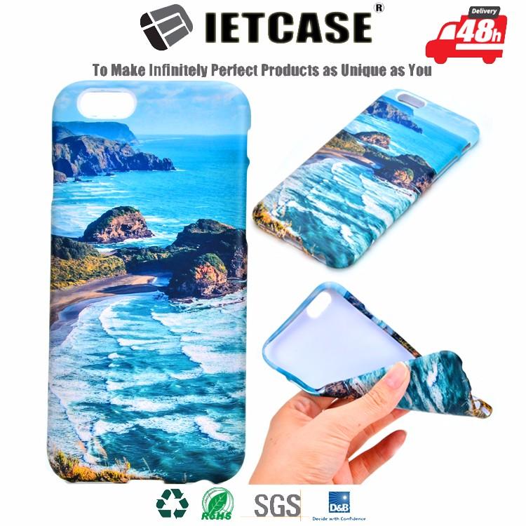 Hot stylish mobile accessory 3D full cover print wholesale custom plastic PC hard TPU soft cell phone Case for iphone 5 6 6splus
