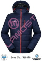 fashional winter padded jacket with hood for men