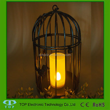 remote control metal led candle lantern table lantern decoration