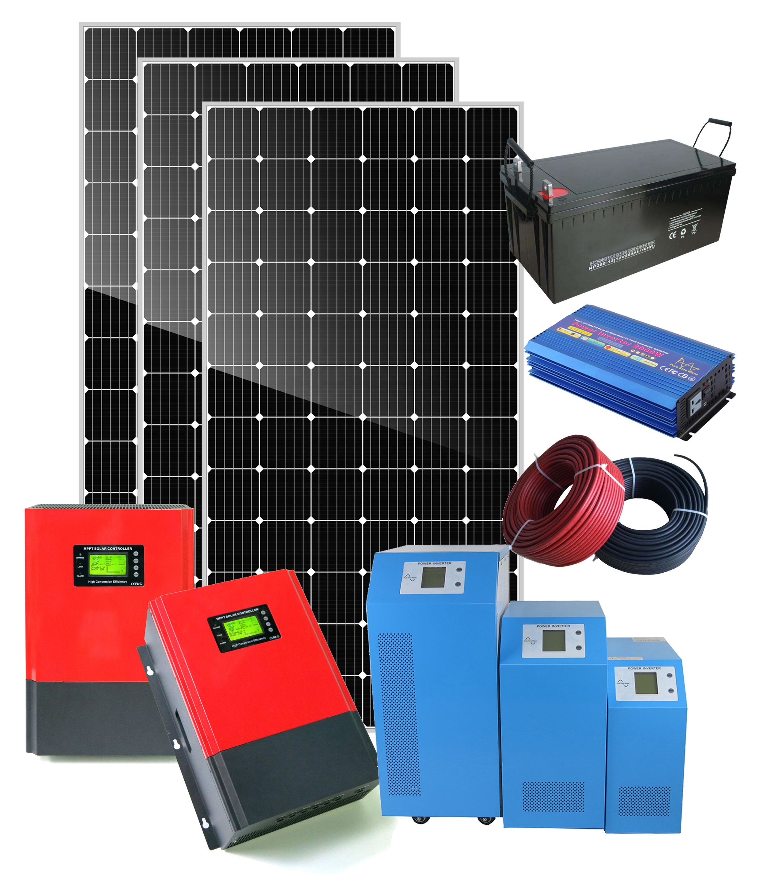 new design <strong>solar</strong> off grid system 50kw 25kw <strong>solar</strong> system panel 20kw 10kw 5kw home or commercial use