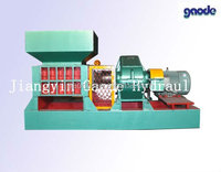 Continuous power hot sale plastic bottles crusher