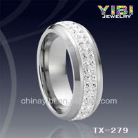 tungsten ring,engagement ring,china high quality jewelry .rings made of stone