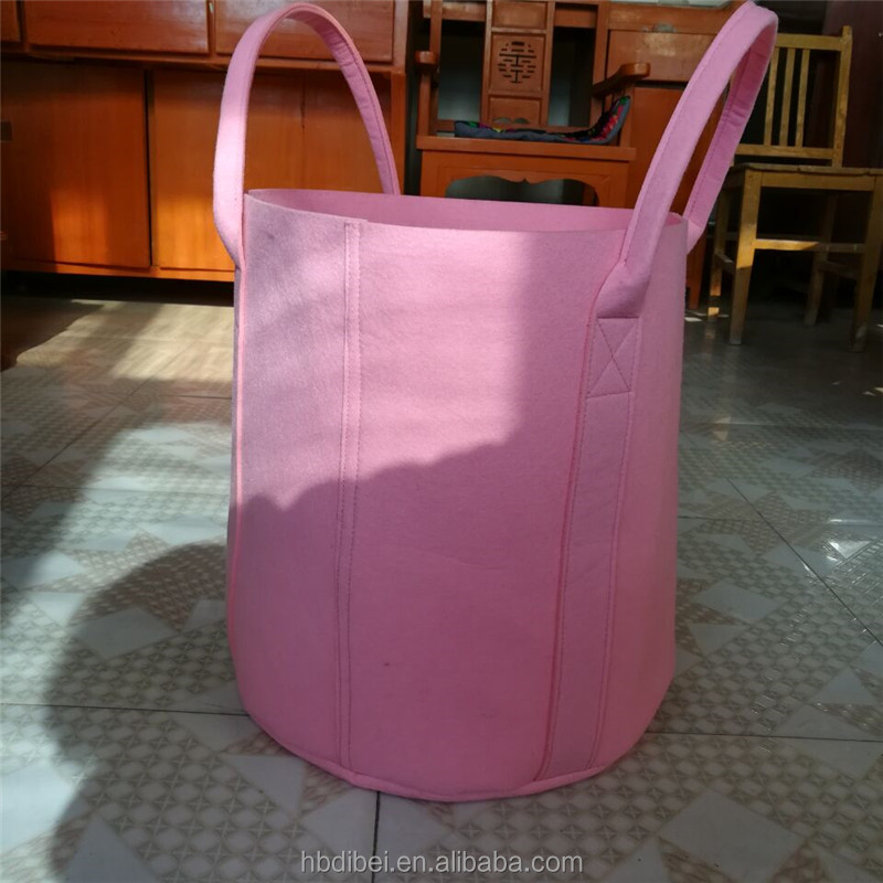 Factory price wholesale eco friendly felt nursery planter grow bag for outdoor garden