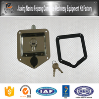 China Manufacturer ISO Certificated Paddle Style Stainless Steel Dog Kennel Lock