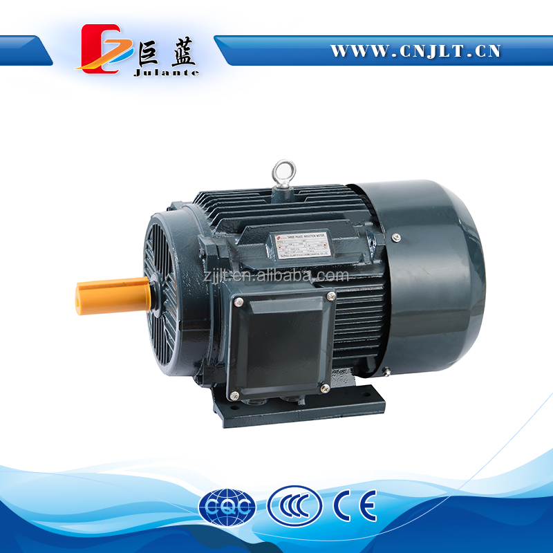 horizontal mounting method fan cooling induction motor