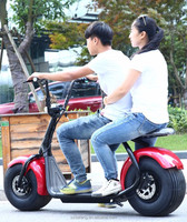1000W Citycoco Scooter Electric cars, authentic, Harley electric scooter, li-ion battery electric bicycle
