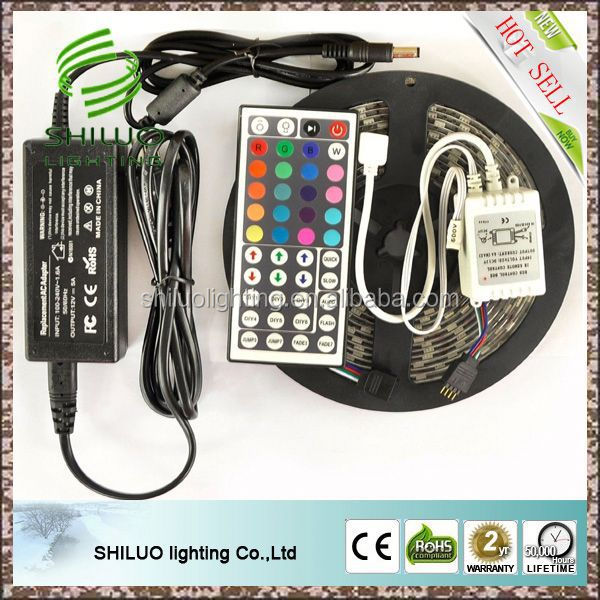 Top grade energy conservation blister pack led strip, led strip pack 5050smd rgb, led strip with blister pack