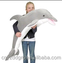 Giant Dolphin Stuffed Toy Gifts for Kids/120cm Dolphin Plush Toy