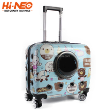 Wholesale Travel Dog Trolley Carrier Bag with Wheels Trolley Pet Carrier