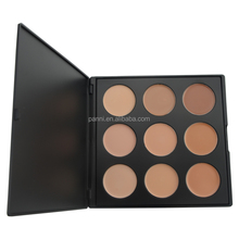 New cheap price cosmetics private label concealer makeup palette with 9colors
