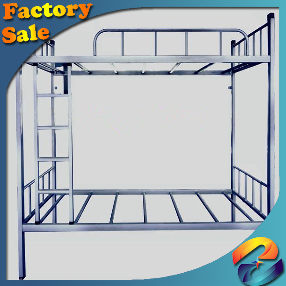 Adult Bunk Bed for Hostels Steel Metal School Student Dorm Bunk Bed Cheap