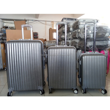 20 24 28 one set abs functional cheap aluminum frame trolley travel suitcase luggage