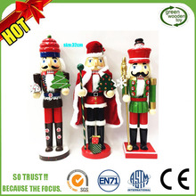 wooden nutcracker nut made in china, Hot Sale Christmas nutcracker soldiers,wooden toy soldier nutcracker