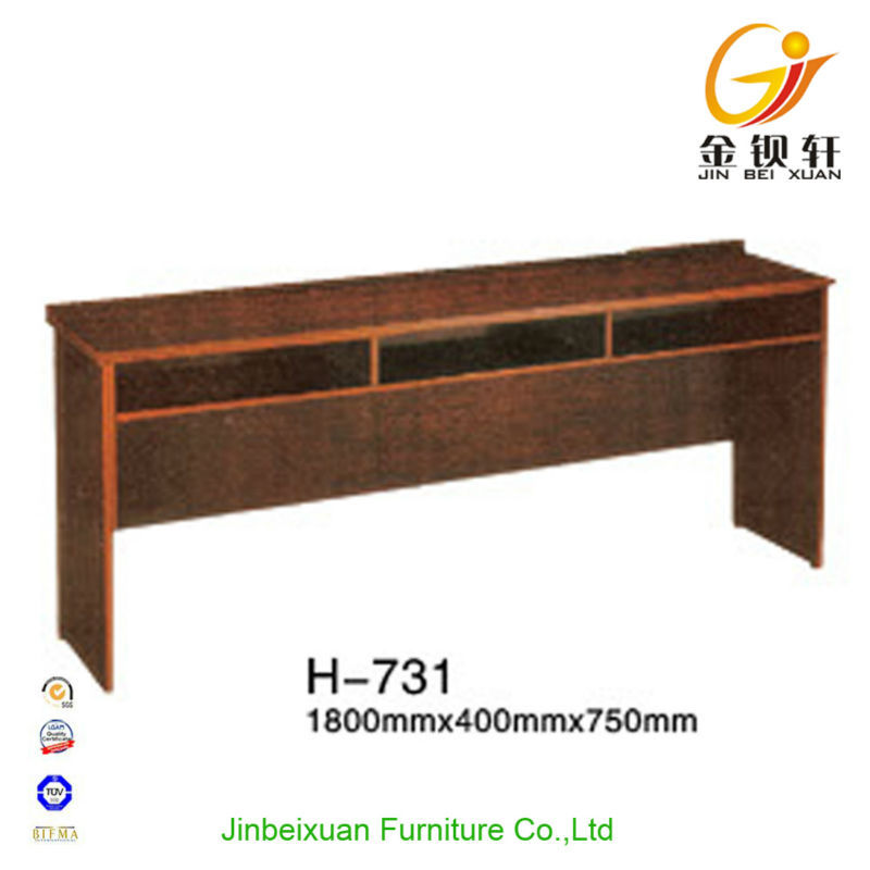 Long Study Desk With 3 Person Meeting Room Solid Wood Study Desk Part 59