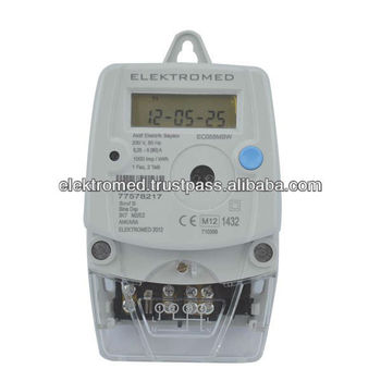 EC058 Single Phase Electric Meter 230V, 5(80)A