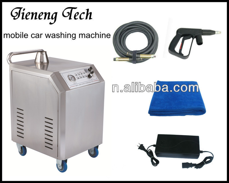YX-II-XS 10bar mobile LPG car steam cleaner with CE approval