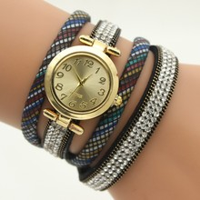 Lady Watch Leather Band Competitive Price Dress Promotional Delicate Bracelet Woman Watch