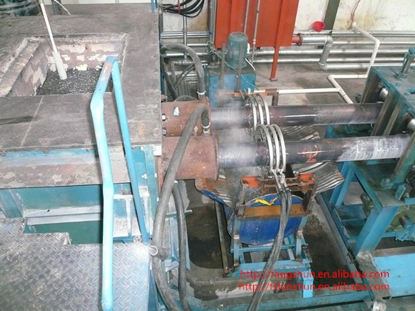 Without heading double tube copper/brass rod peeling machine