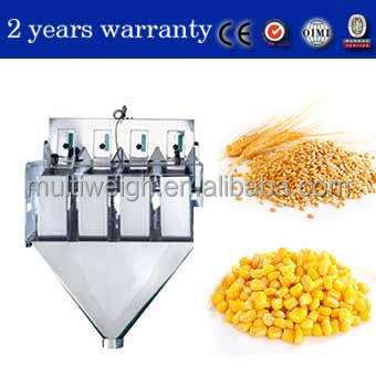 Chinese linear weigher for dog food with 2 years warranty